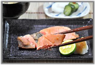 南千歳産紅鮭